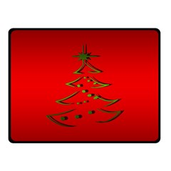 Christmas Double Sided Fleece Blanket (small)  by BangZart