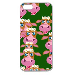 Seamless Tile Repeat Pattern Apple Seamless Iphone 5 Case (clear)