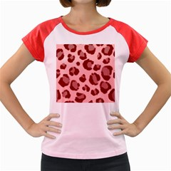 Seamless Tile Background Abstract Women s Cap Sleeve T Shirt