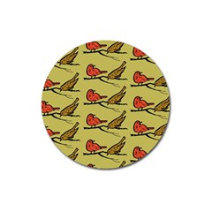 Animal Nature Wild Wildlife Magnet 3  (round)