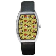 Animal Nature Wild Wildlife Barrel Style Metal Watch by BangZart