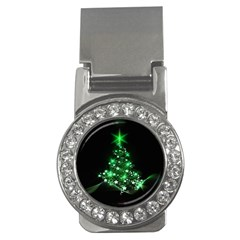 Christmas Tree Background Money Clips (cz)  by BangZart