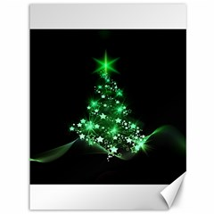 Christmas Tree Background Canvas 36  X 48   by BangZart