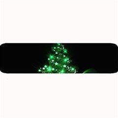 Christmas Tree Background Large Bar Mats by BangZart
