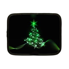 Christmas Tree Background Netbook Case (small)  by BangZart