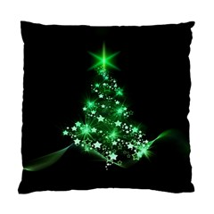 Christmas Tree Background Standard Cushion Case (one Side) by BangZart