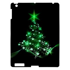Christmas Tree Background Apple Ipad 3/4 Hardshell Case