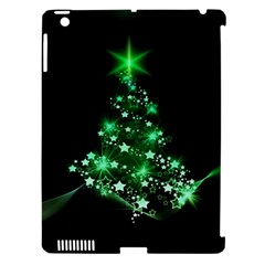 Christmas Tree Background Apple Ipad 3/4 Hardshell Case (compatible With Smart Cover) by BangZart