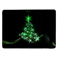 Christmas Tree Background Samsung Galaxy Tab Pro 12 2  Flip Case