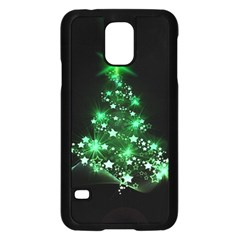 Christmas Tree Background Samsung Galaxy S5 Case (black) by BangZart