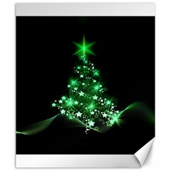 Christmas Tree Background Canvas 20  X 24   by BangZart