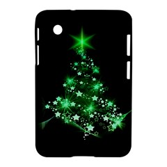 Christmas Tree Background Samsung Galaxy Tab 2 (7 ) P3100 Hardshell Case
