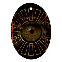 Eye Technology Ornament (oval)