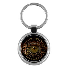 Eye Technology Key Chains (round)  by BangZart