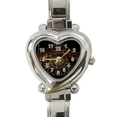 Eye Technology Heart Italian Charm Watch by BangZart