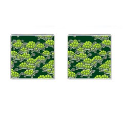 Seamless Tile Background Abstract Cufflinks (square) by BangZart