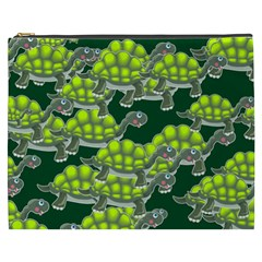 Seamless Tile Background Abstract Cosmetic Bag (xxxl)  by BangZart