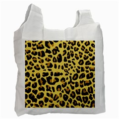 Animal Fur Skin Pattern Form Recycle Bag (two Side)