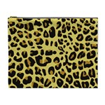 Animal Fur Skin Pattern Form Cosmetic Bag (XL) Front