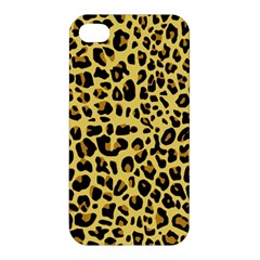 Animal Fur Skin Pattern Form Apple Iphone 4/4s Premium Hardshell Case