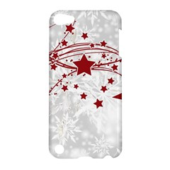 Christmas Star Snowflake Apple Ipod Touch 5 Hardshell Case by BangZart