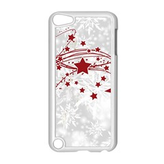 Christmas Star Snowflake Apple Ipod Touch 5 Case (white) by BangZart