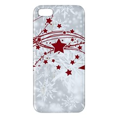 Christmas Star Snowflake Apple Iphone 5 Premium Hardshell Case by BangZart