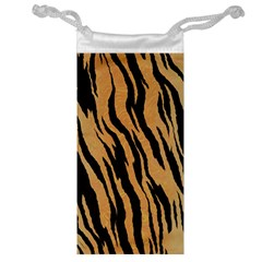 Animal Tiger Seamless Pattern Texture Background Jewelry Bag