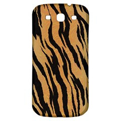 Animal Tiger Seamless Pattern Texture Background Samsung Galaxy S3 S Iii Classic Hardshell Back Case by BangZart