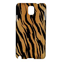 Animal Tiger Seamless Pattern Texture Background Samsung Galaxy Note 3 N9005 Hardshell Case