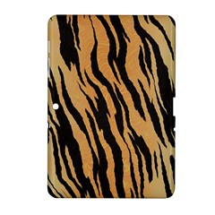 Animal Tiger Seamless Pattern Texture Background Samsung Galaxy Tab 2 (10 1 ) P5100 Hardshell Case