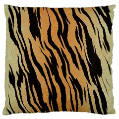 Animal Tiger Seamless Pattern Texture Background Standard Flano Cushion Case (one Side)