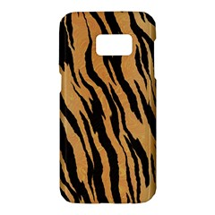 Animal Tiger Seamless Pattern Texture Background Samsung Galaxy S7 Hardshell Case