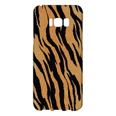 Animal Tiger Seamless Pattern Texture Background Samsung Galaxy S8 Plus Hardshell Case