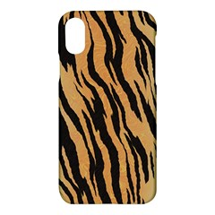 Animal Tiger Seamless Pattern Texture Background Apple Iphone X Hardshell Case