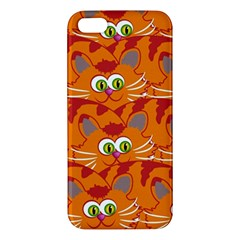 Animals Pet Cats Mammal Cartoon Iphone 5s/ Se Premium Hardshell Case by BangZart