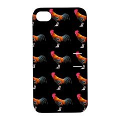Background Pattern Chicken Fowl Apple Iphone 4/4s Hardshell Case With Stand by BangZart