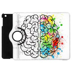 Brain Mind Psychology Idea Hearts Apple Ipad Mini Flip 360 Case