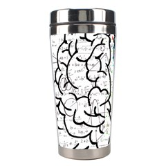 Brain Mind Psychology Idea Hearts Stainless Steel Travel Tumblers