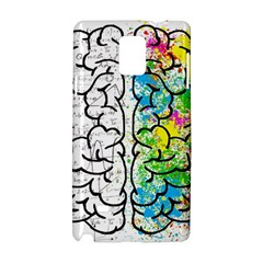 Brain Mind Psychology Idea Hearts Samsung Galaxy Note 4 Hardshell Case