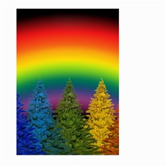 Christmas Colorful Rainbow Colors Large Garden Flag (two Sides) by BangZart