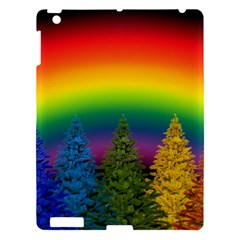 Christmas Colorful Rainbow Colors Apple Ipad 3/4 Hardshell Case