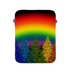 Christmas Colorful Rainbow Colors Apple Ipad 2/3/4 Protective Soft Cases