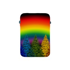 Christmas Colorful Rainbow Colors Apple Ipad Mini Protective Soft Cases by BangZart