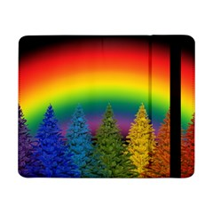 Christmas Colorful Rainbow Colors Samsung Galaxy Tab Pro 8 4  Flip Case