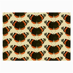 Butterfly Butterflies Insects Large Glasses Cloth (2 Side) by BangZart