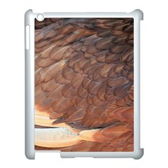 Feather Chicken Close Up Red Apple Ipad 3/4 Case (white) by BangZart