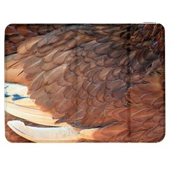 Feather Chicken Close Up Red Samsung Galaxy Tab 7  P1000 Flip Case