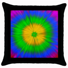 Spot Explosion Star Experiment Throw Pillow Case (black)
