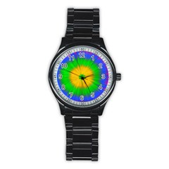 Spot Explosion Star Experiment Stainless Steel Round Watch